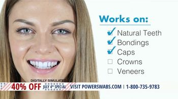 Power Swabs 4th of July Special TV Spot, 'Clinically Studied' - Thumbnail 3
