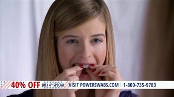 Power Swabs 4th of July Special TV Spot, 'Clinically Studied' - Thumbnail 6