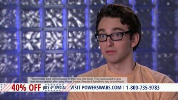 Power Swabs 4th of July Special TV Spot, 'Clinically Studied' - Thumbnail 7