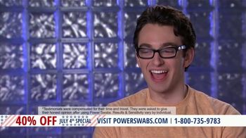 Power Swabs 4th of July Special TV Spot, 'Clinically Studied' - Thumbnail 8