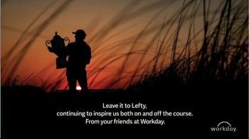 Workday TV Spot, 'Leave It to Lefty: Phil Mickelson' - Thumbnail 7
