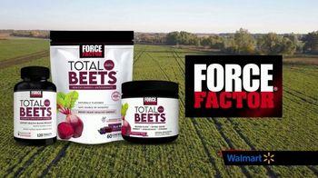 Force Factor Total Beets TV Spot, 'Nitric Oxide: Walmart'