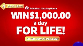 Publishers Clearing House TV Spot, 'Four Days Left: $1,000 a Day' Featuring Brad Paisley - Thumbnail 9