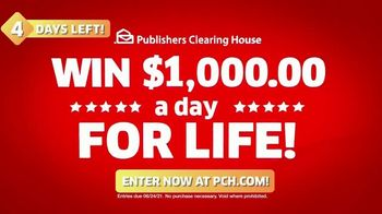 Publishers Clearing House TV Spot, 'Four Days Left: $1,000 a Day' Featuring Brad Paisley - Thumbnail 5