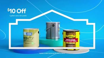 Lowe's TV Spot, '4th of July: $40 Off Paint and Stain 5 Gallon' - Thumbnail 3