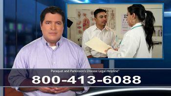Paraquat and Parkinson's Disease Legal Helpline TV Spot, 'Exposure' - Thumbnail 1