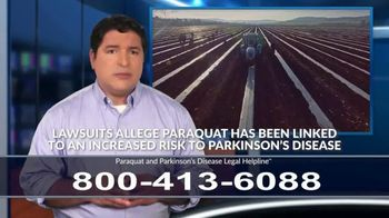 Paraquat and Parkinson's Disease Legal Helpline TV Spot, 'Exposure' - Thumbnail 4