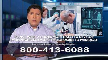 Paraquat and Parkinson's Disease Legal Helpline TV Spot, 'Exposure' - Thumbnail 8