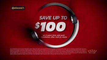 Tire Kingdom TV Spot, 'Two Advisors: Ugh: Continental: $100 Rebate + $100' - Thumbnail 6