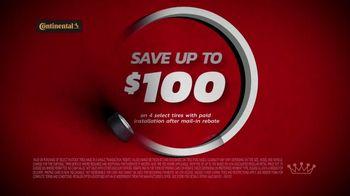 Tire Kingdom TV Spot, 'Two Advisors: Ugh: Continental: $100 Rebate + $100' - Thumbnail 7