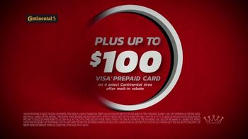 Tire Kingdom TV Spot, 'Two Advisors: Ugh: Continental: $100 Rebate + $100' - Thumbnail 9