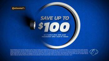 National Tire & Battery TV Spot, 'Two Advisors: Loophole: Continental: $100 Rebate + $100' - Thumbnail 7