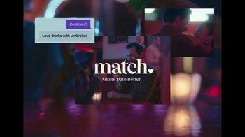 Match.com TV Spot, 'Adults Date Better: Umbrella' - Thumbnail 8