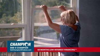 Champion Windows Hottest Sale of the Year TV Spot, 'Don't Sweat: Buy 2 Get 2'