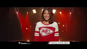 Fanatics.com TV Spot, 'Gearing Up: Special Offer'