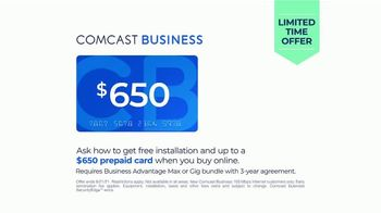 Comcast Business TV Spot, 'Ready for the Day: $650 Prepaid Card' - Thumbnail 7