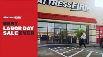 Mattress Firm Best Labor Day Sale Ever TV Spot, 'Hot Buys: Put an End to Junk Sleep'
