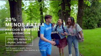 Macy's TV Spot, 'Quítate el polvo: $9.99 dólares' canción de I Am ORFA & Bodytalkr [Spanish] - Thumbnail 5