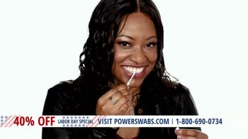 Power Swabs Labor Day Special TV Spot, 'It's Not Magic: 40% Off'