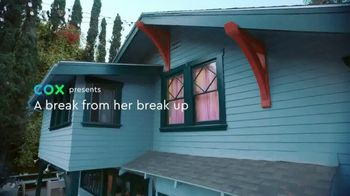 Cox Communications Panoramic Wifi TV Spot, 'A Break From Her Break-Up' Song by Francesca Blanchard - Thumbnail 1
