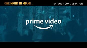 Amazon Prime Video TV Spot, 'One Night in Miami' Song by Leslie Odom Jr. - Thumbnail 1
