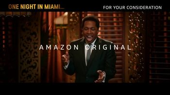 Amazon Prime Video TV Spot, 'One Night in Miami' Song by Leslie Odom Jr.