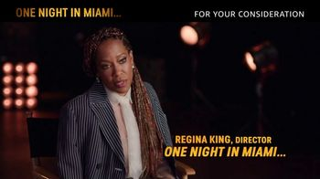 Amazon Prime Video TV Spot, 'One Night in Miami' Song by Leslie Odom Jr. - Thumbnail 8