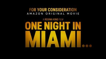 Amazon Prime Video TV Spot, 'One Night in Miami' Song by Leslie Odom Jr. - Thumbnail 9