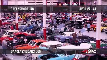 GAA Classic Cars TV Spot, '2021 Greensboro'