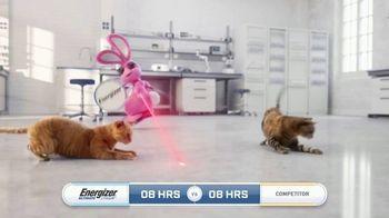 Energizer Ultimate Lithium TV Spot, 'Laser Pointers' - Thumbnail 3
