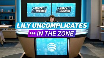 AT&T Wireless TV Spot, 'Lily Uncomplicates: In the Zone' - Thumbnail 2