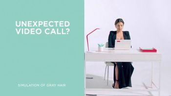 L'Oreal Paris Magic Root Cover Up TV Spot, 'Unexpected Video Call' Featuring Eva Longoria - Thumbnail 1