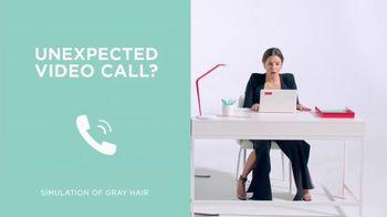 L'Oreal Paris Magic Root Cover Up TV Spot, 'Unexpected Video Call' Featuring Eva Longoria - Thumbnail 2