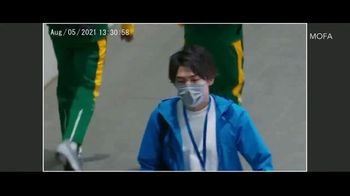 Ministry of Foreign Affairs Japan TV Spot, 'Safe and Secure Olympic Games' Feat. Tomoa Narasaki - Thumbnail 6