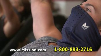 Mission All-Season Adjustable Gaiter TV Spot, 'Covered and Comfortable' Featuring Serena Williams, Dwayne Wade, Drew Brees - Thumbnail 6