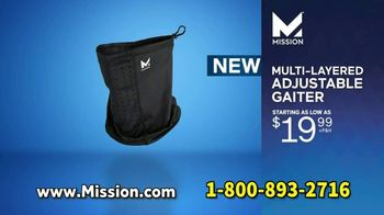 Mission All-Season Adjustable Gaiter TV Spot, 'Covered and Comfortable' Featuring Serena Williams, Dwayne Wade, Drew Brees - Thumbnail 8