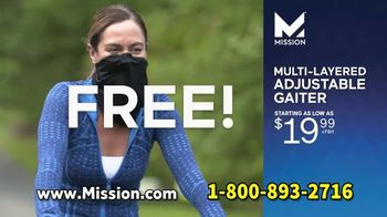 Mission All-Season Adjustable Gaiter TV Spot, 'Covered and Comfortable' Featuring Serena Williams, Dwayne Wade, Drew Brees - Thumbnail 9