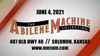 Mecum Auctions TV Spot, '2021 Kansas: The Abilene Machine Collection' - Thumbnail 3