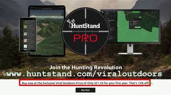 HuntStand Pro TV Spot, 'Viral Outdoors: Map Out Your Hunt'