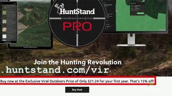 HuntStand Pro TV Spot, 'Viral Outdoors: Map Out Your Hunt' - Thumbnail 7