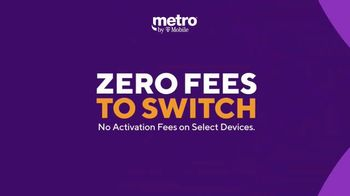 Metro by T-Mobile TV Spot, 'Zero Fees to Switch: Four Free Samsung Galaxy and MLB TV' - Thumbnail 2