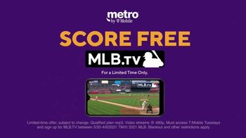 Metro by T-Mobile TV Spot, 'Zero Fees to Switch: Four Free Samsung Galaxy and MLB TV' - Thumbnail 6
