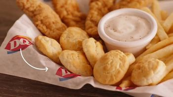 Dairy Queen Chicken and Biscuits Basket TV Spot, 'Mini Celebration' - Thumbnail 5