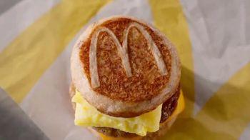 McDonald's Sausage, Egg & Cheese McGriddle TV Spot, 'Sweet Dreams or Savory Dreams?' - Thumbnail 4