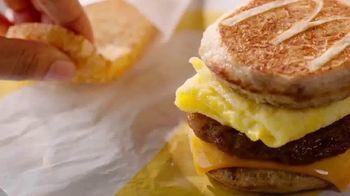 McDonald's Sausage, Egg & Cheese McGriddle TV Spot, 'Sweet Dreams or Savory Dreams?' - Thumbnail 5