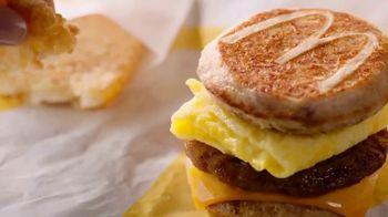 McDonald's Sausage, Egg & Cheese McGriddle TV Spot, 'Sweet Dreams or Savory Dreams?' - Thumbnail 6