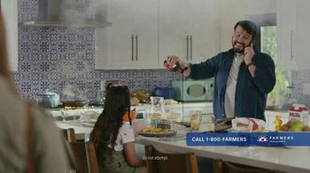 Farmers Insurance Policy Perks TV Spot, 'Phone It In: Cereal' Featuring J.K. Simmons - 1636 commercial airings