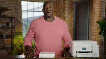 Epson EcoTank TV Spot, 'Lots of Ink: Incredible Amount of Ink' Featuring Shaquille O'Neal