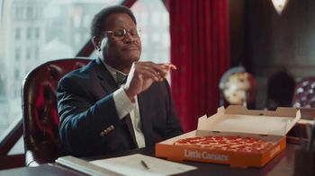 Little Caesars Pizza TV Spot, 'Big Pizza: Questions' - Thumbnail 5
