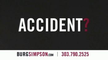 Burg Simpson TV Spot, 'Accident?' - Thumbnail 2